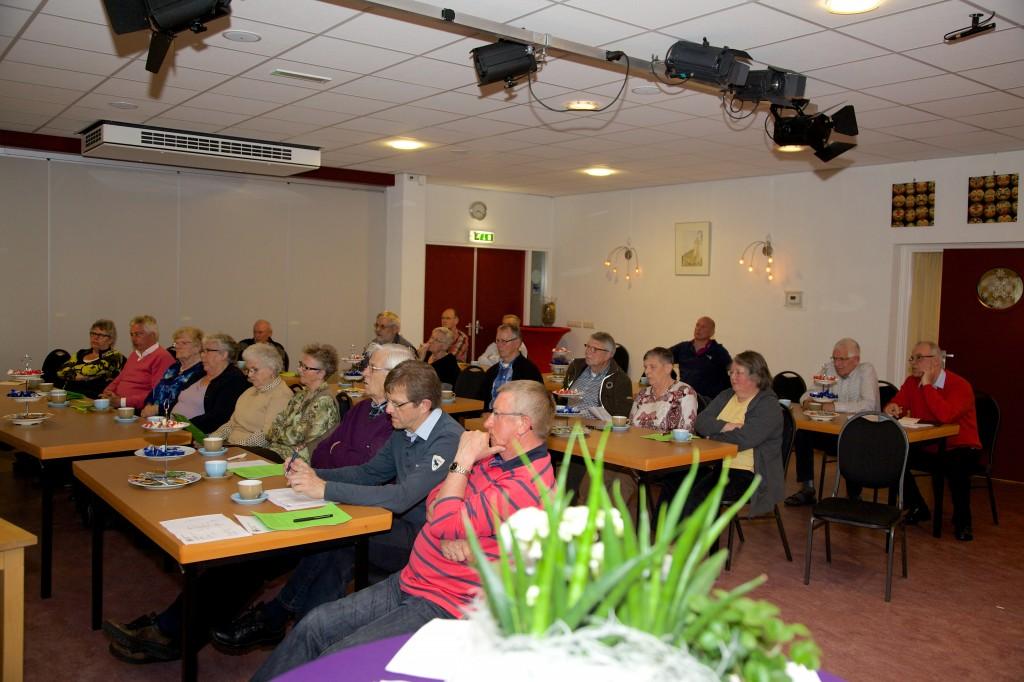 Een sfeerimpressie van de eerste ledenvergadering van de HFDP op 31 maart j.l.