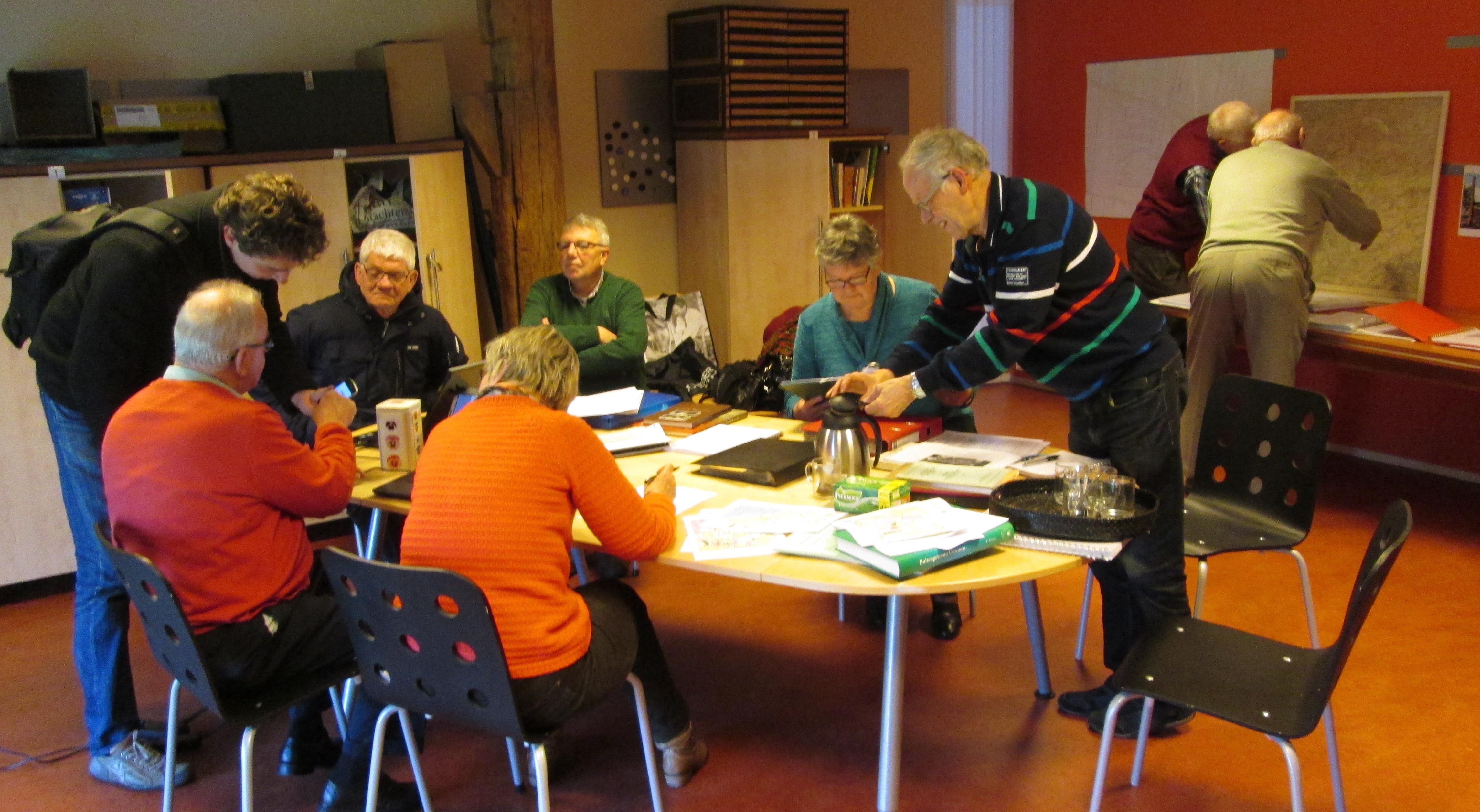 Impressie van de inloopmiddag op 'It Einenêst' (foto: Sjouke van der Heide).