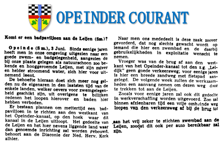 Opeinder Courant #4