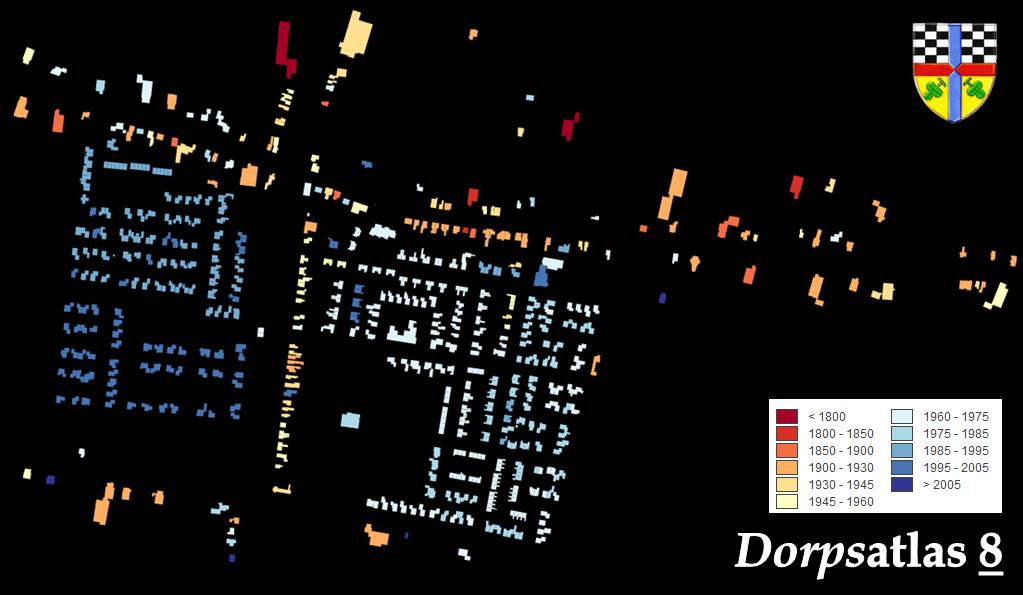 Opeinde op de kaart van  de Code Waag Society (2013).