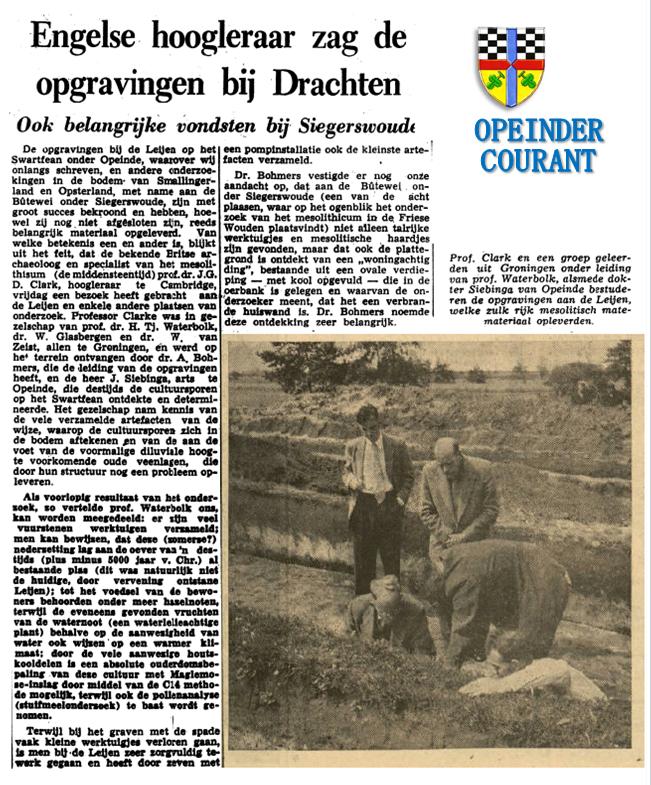 Bron: Leeuwarder Courant van 14 juli 1956. Klikken is vergroten.