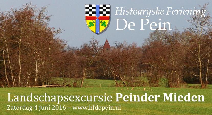 Banner landschapsexcursie 2016
